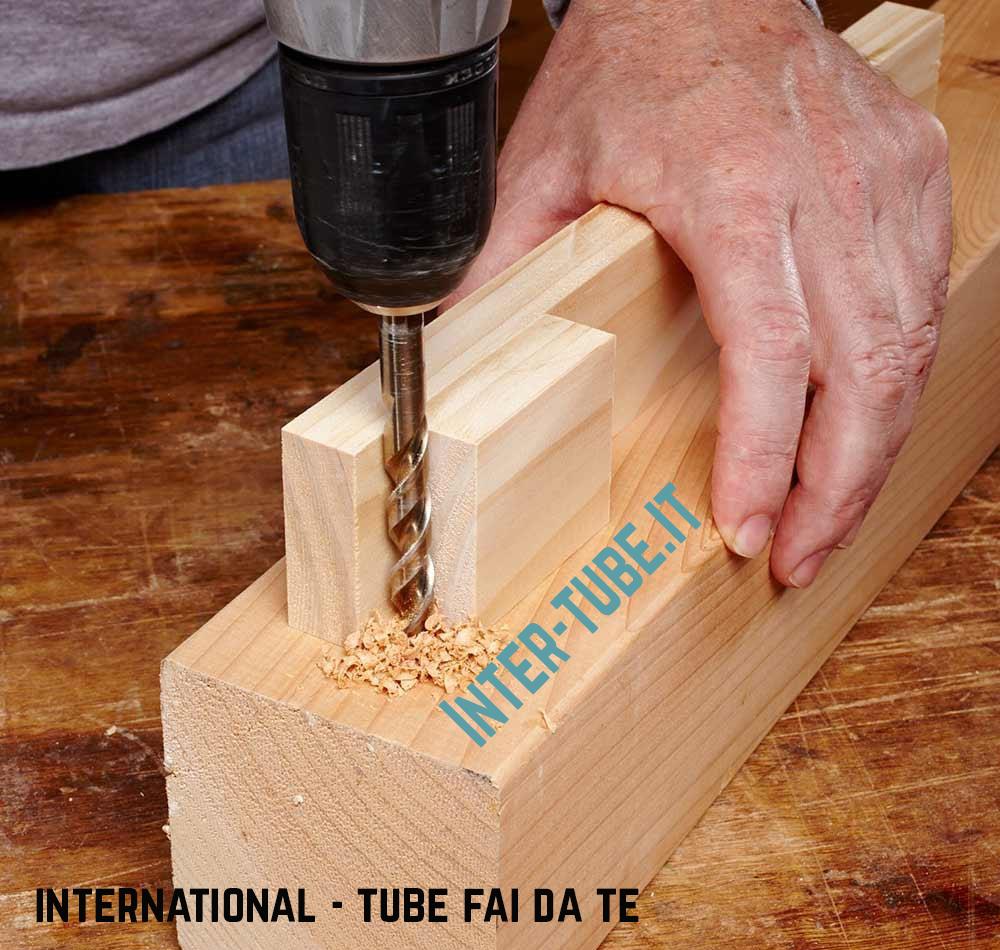 forare il legno con il trapano