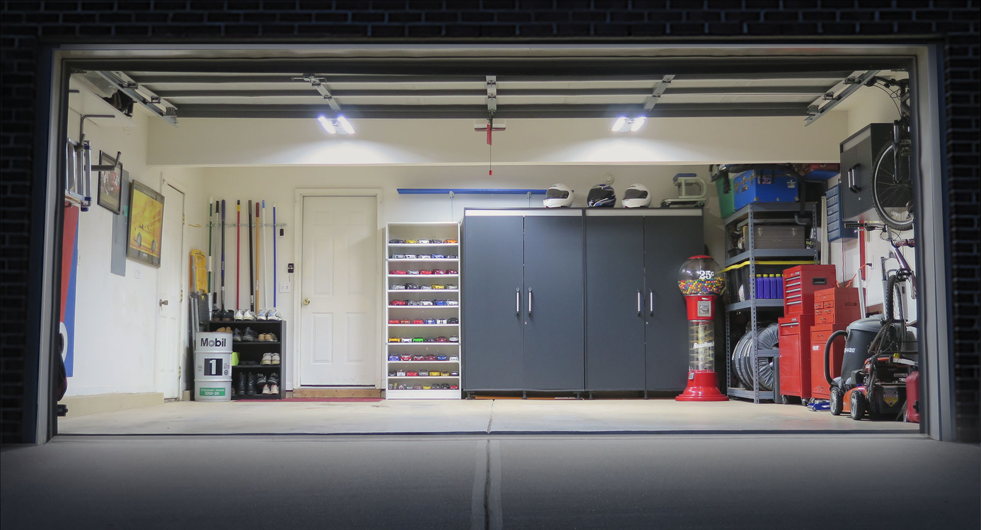 Come sfruttare lo spazio del garage o cantina