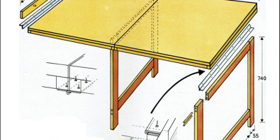 tavolino pieghevole