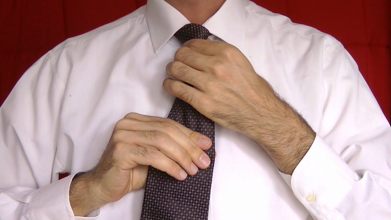 come fare il nodo alla cravatta